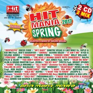Hit Mania Spring 2017 - CD Audio