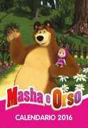 Cartoleria Calendario 2016 12 mesi Masha e Orso My Time