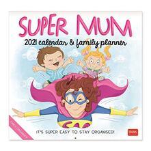 Calendario Legami 2021 Uncoated Paper Super Mamma. Super Mum - 30x29