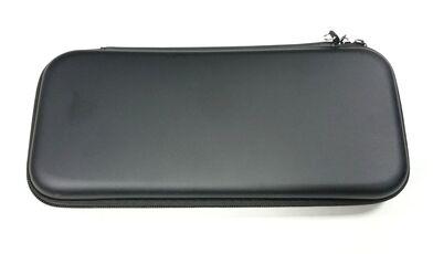 Videogiochi Console e accessori Custodia Case Con Cerniera E Laccio Nera Per Console Nintendo Switch