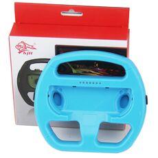 Videogiochi Console e accessori Volante Wheel Controller Joy-Con Nintendo Switch Blu Ideale Mario Kart