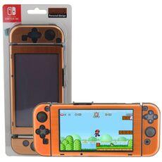 Videogiochi Console e accessori Custodia Case Di Protezione In Alluminio Gold Per Console Nintendo Switch