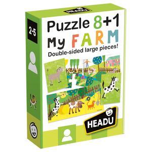 Puzzle 8+1 Farm