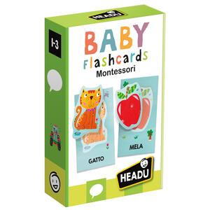 Giocattolo Baby Flashcards Montessori Headu