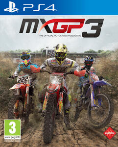 MXGP3 - The Official Motocross Videogame - PS4 - 2