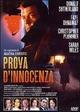 Cover Dvd DVD Prova d'innocenza