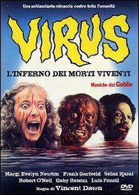 Locandina Virus (L'inferno dei morti viventi)