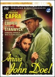 Arriva John Doe di Frank Capra - DVD