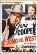 Cover Dvd DVD L'uomo del west