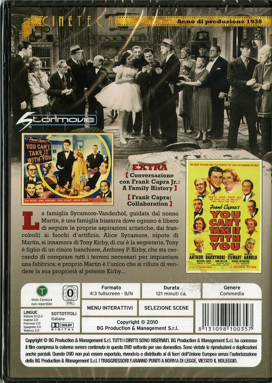 L' eterna illusione di Frank Capra - DVD - 2