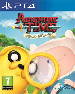 Adventure Time. Finn e Jake detective