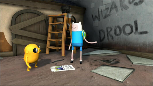 Adventure Time. Finn e Jake detective - 3