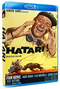 Hatari di Howard Hawks - Blu-ray