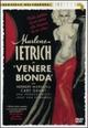 Cover Dvd DVD Venere bionda