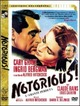 Cover Dvd Notorious - L'amante perduta