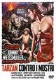 Cover Dvd Tarzan contro i mostri