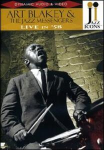 Art Blakey & The Jazz Messengers. Live in '58. Jazz Icons - DVD