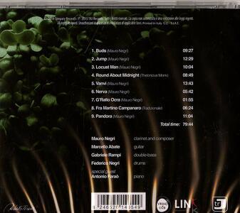 Buds - CD Audio di Mauro Negri - 2