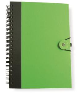 Cartoleria Notebook carta riciclata Mans