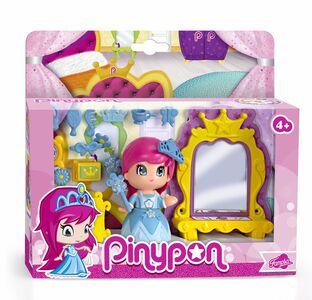 Giocattolo Pinypon. Princess Mirror. Specchio Magico con 1 Pinypon Famosa