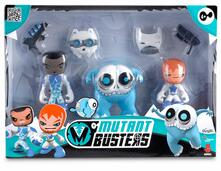 Mutant Busters. Ghiaccio. 3 Snow Figures. Pack 1