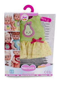 Nenuco abitino per bambole 35 cm con disegno pera - 6