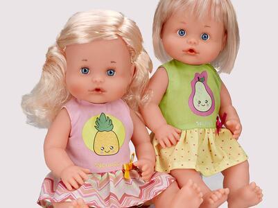 Nenuco abitino per bambole 35 cm con disegno pera - 7