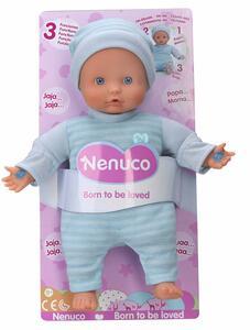 Nenuco. Bambola Soft 25 Cm 3 Funzioni Azzurra