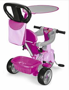 Triciclo Trike Baby Plus Music Pink