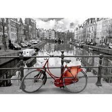 3000 Amsterdam. Colorato Bianco E Nero