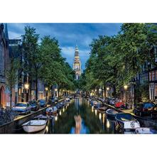 1500 Canale Di Amsterdam Al Crepuscolo