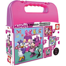 Case Puzzle Progressive Minnie Happy Helpers