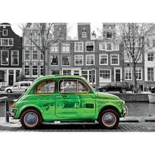 1000 Auto Ad Amsterdam. Coloured B&W