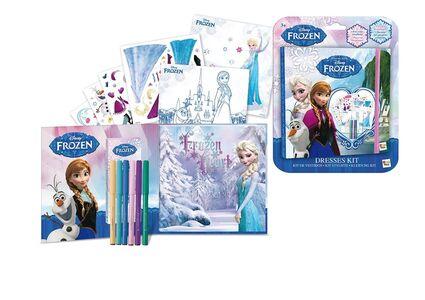 Giocattolo Frozen Kit Disegno Abiti IMC Toys 0