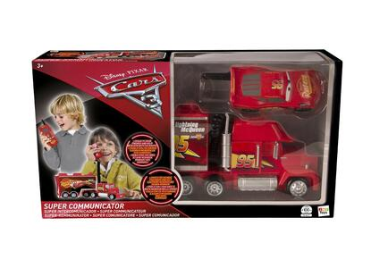 Cars 3. Super Communicator Mack Truck E McQueen