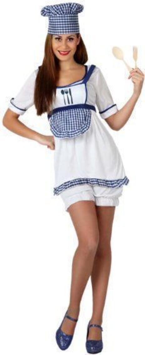 Costume Donna Cuoco Ml 158011 - 15