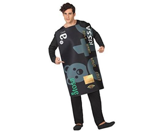Costume per Adulti 6525 Carta di credito Taglia M/L