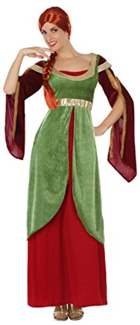 Costume per Adulti Dama medievale M/L