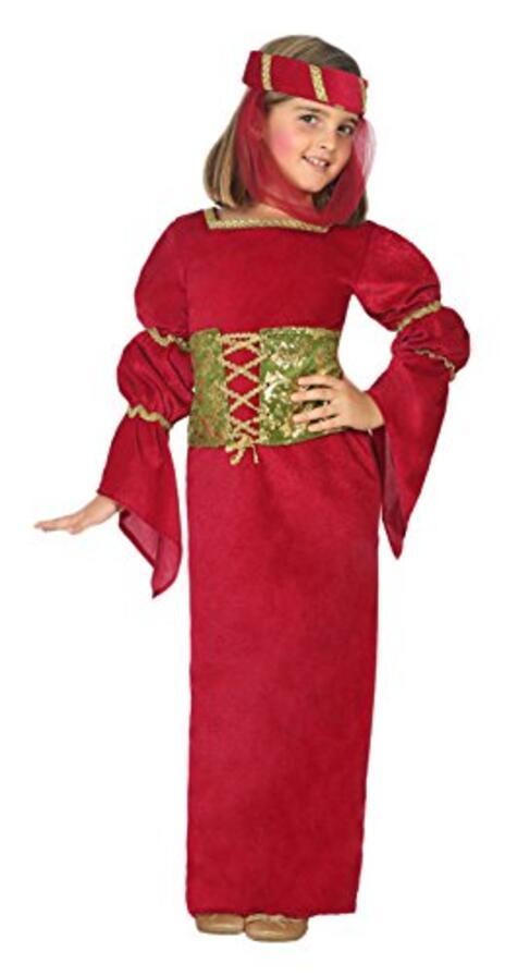 Costume per Bambini Dama medievale - 6