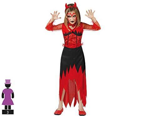 Costume per Bambini 1132 Demonio donna Taglia 10/12 anni - 2
