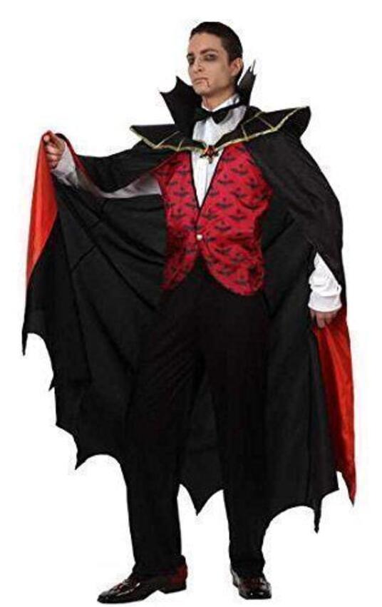 Costume Vampiro Rosso 93583 - 52