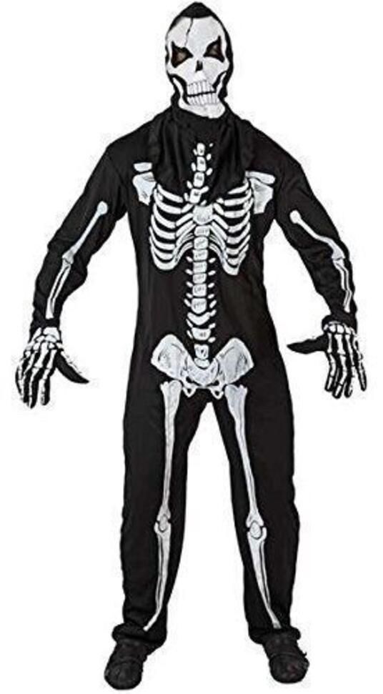 Costume Scheletro Adulto Ml 96743 - 35
