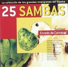 25 Sambas. Enredo - CD Audio