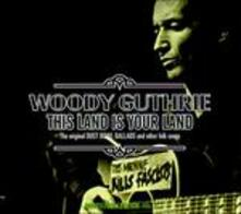 This Land Is Your Land - CD Audio di Woody Guthrie