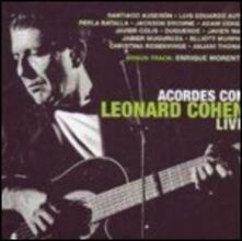 Acordes con Leonard Cohen. Live - CD Audio