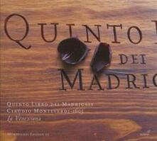 Quinto Libro Dei Madrigal - CD Audio di Claudio Monteverdi
