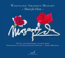 Music for Horn - CD Audio di Wolfgang Amadeus Mozart