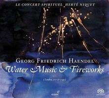 Water Music, Royal Firewo - SuperAudio CD di Georg Friedrich Händel