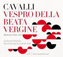 Vespro Della Beate Virgin - CD Audio di Francesco Cavalli