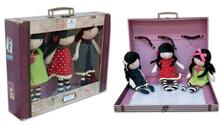 Gorjuss. 3 Dolls And Carry Case Set